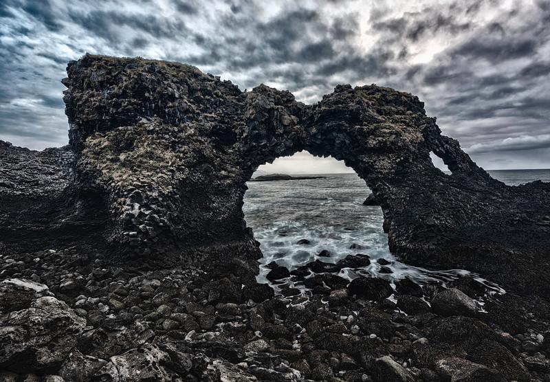 Moody Sea Arch