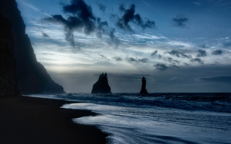 Vik Sea Stacks Sunrise