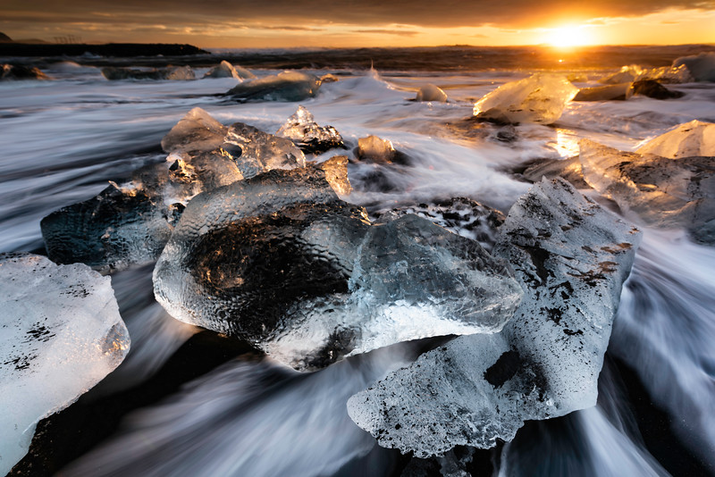 Icy Sunrise
