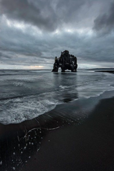 Another Moody Sunrise Sea Stack