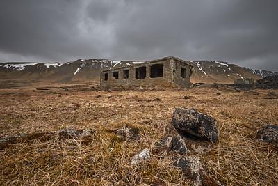 Hvalfjörður - British WWII Ruins