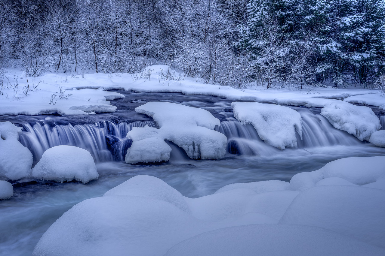 Winter Waterfall II