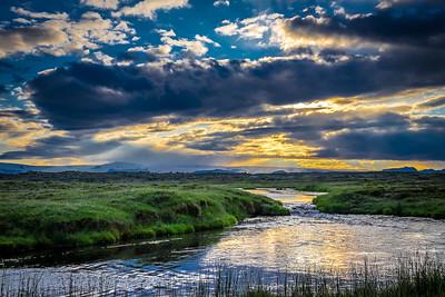 Icelandic Summer Sunset