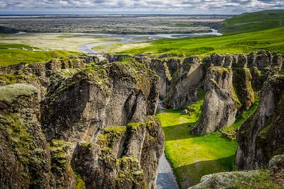Fjaðrárgljúfur og Eldhraun