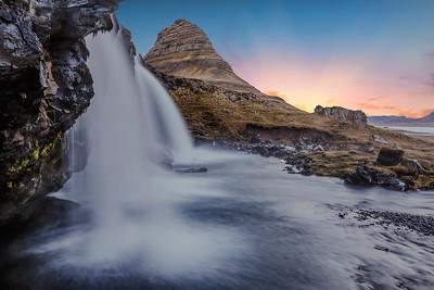 Kirkjufellsfoss Waterfall