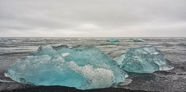 Icescape: Iceberg, Jökulsárlón, Iceland