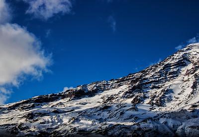 Icescape: NIsqually Glacier, Mt. Rainier | Mt. Rainier National Park