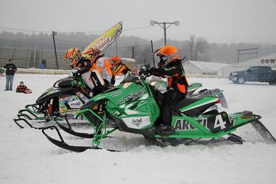 Eastcoast Snow Cross-1/11/14-1/12/14-Fonda Speedway- Bill McGaffin
