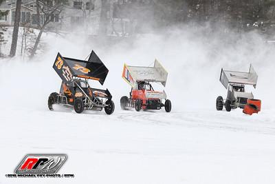 Ice Races At Lake Winnipesaukee, NH - 2/17/18 - Michael Fry