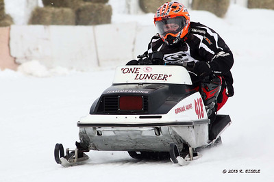 NNY Vintage Snowmobile Races- Boonville, NY 01-26-13- Rebecca Eisele Photos