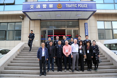 This demonstration workshop focused on using data to better manage traffic was one of several idea exchanges in Qingdao.
