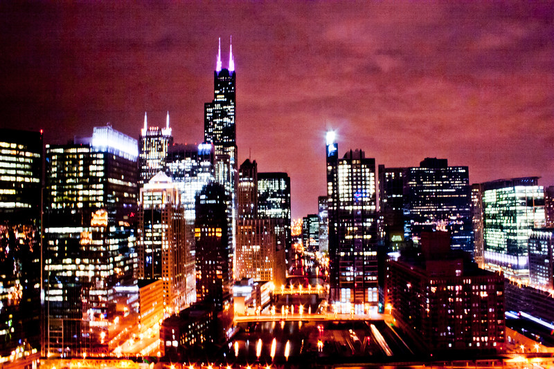 Chicago at Night  1:Journey into Chicago