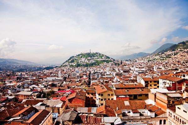 Virgin of Quito 1: Journey into Quito Ecuador