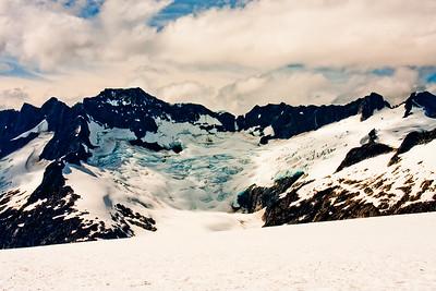 On the McKinley Glacier in Denali National Park 7: Journey into Alaska