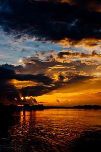 Sunset on the Zambezi River 14: Journey into Africa