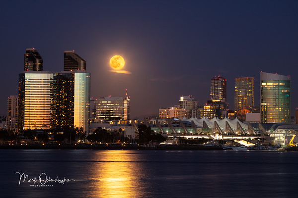 Moonrise Over The Bay