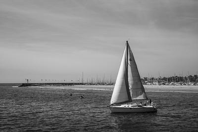 Santa Barbara Sailing Party.