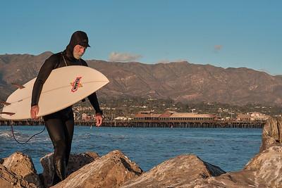 Flash the surfing man