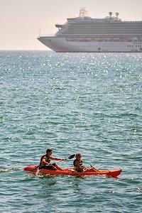 Ocean Kayak - Cruise Ship