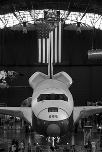 Space Shuttle - Hazy Muesum, Virginia