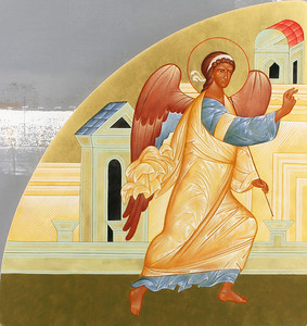 Annunciation (left leaf)