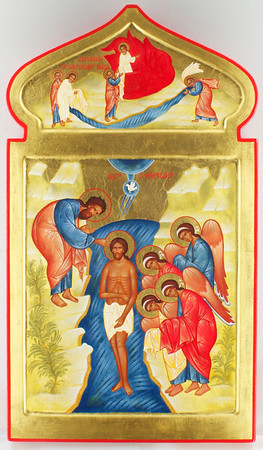 Theophany, Assension of Elijah