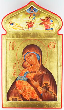 Theotokos glykophilousa, Jocob's Ladder