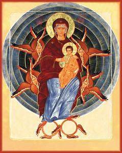 Theotokos in Glory