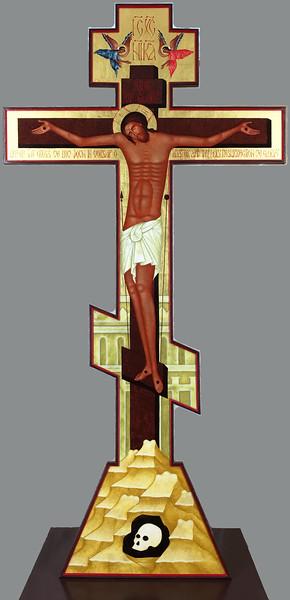 Golgotha Cross front