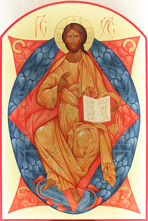 Christ  in Glory of Heavenly Hosts