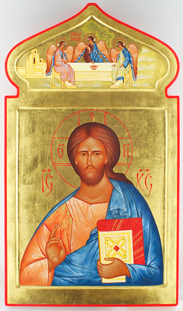 Christ Pantocrator, Holy Trinity