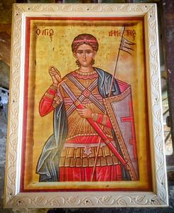 St. Demetrius 8x10 (before)