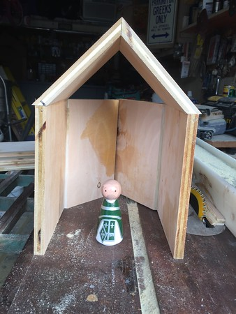 Church for Orthodox Peg Dolls (for Children) (unfinished)