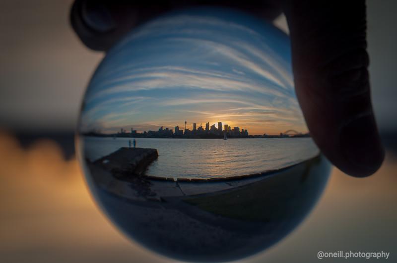Sunset Balls