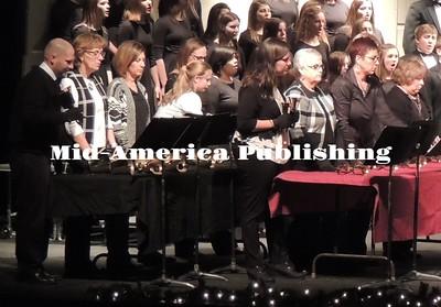 Ridge View High School winter concert (Dec 2016)