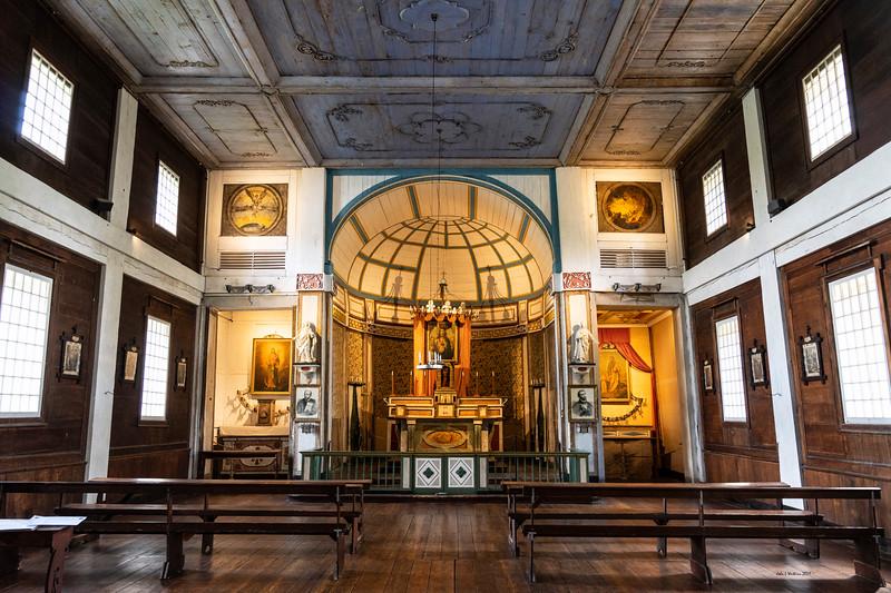 Cataldo Mission Interior