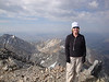 Me on the summit of Borah.  Thanks go out to the Engleman (not sure if I spelled that correct) family who were so nice to me on my trip up Borah and so kindly took my picture.