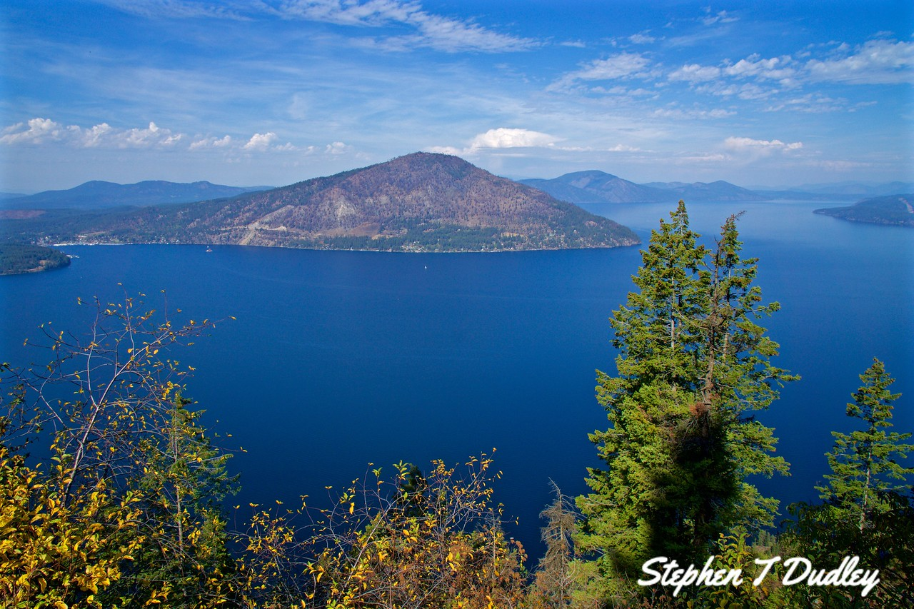 Lake Pend Oreille looking North
