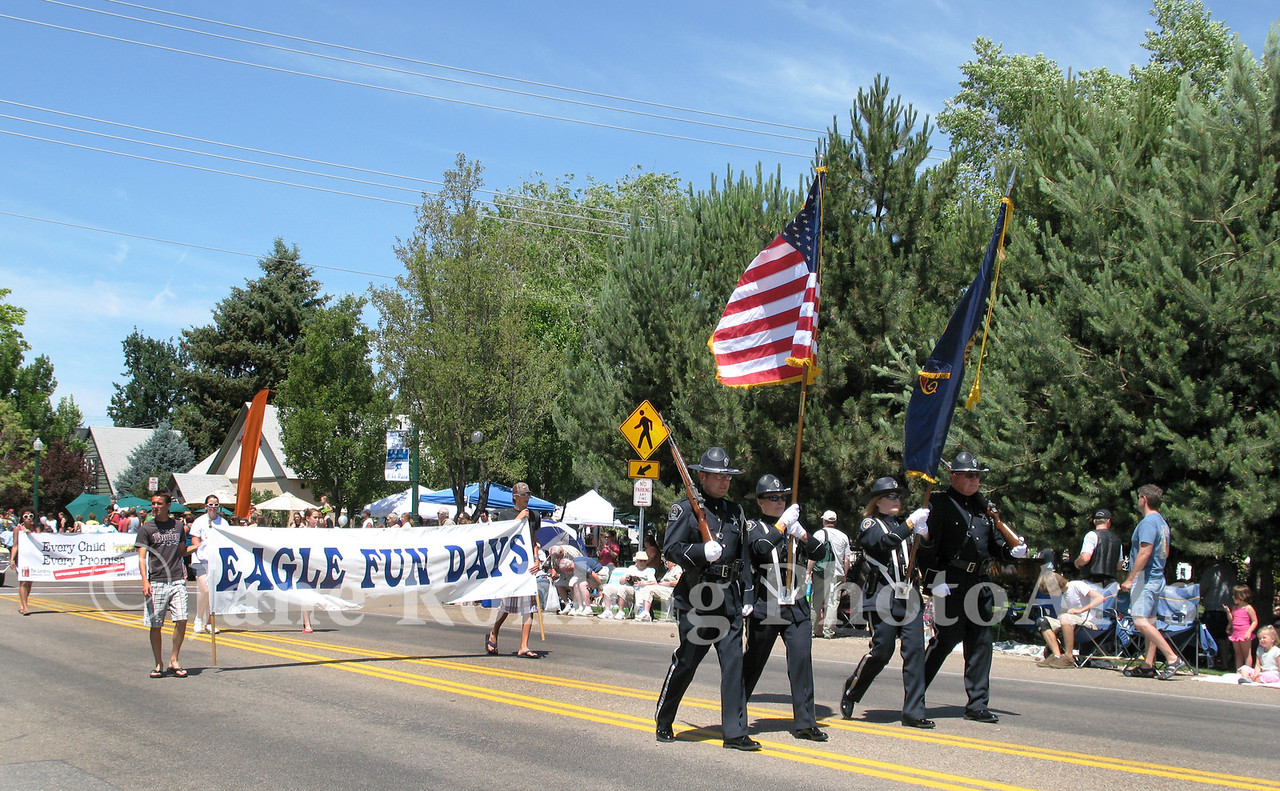 Eagle Fun Days parade, Eagle, Idaho