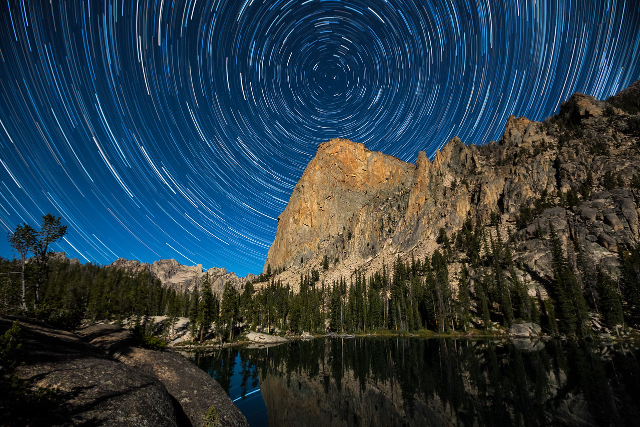Star Trails at Shangri-La