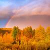 A Double-Rainbow Fall