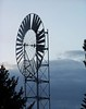 Large windmill in Ammon, Idaho.  Color
