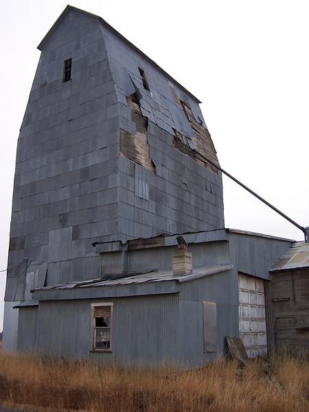 Grain elevator, Grainville, ID. 11.08