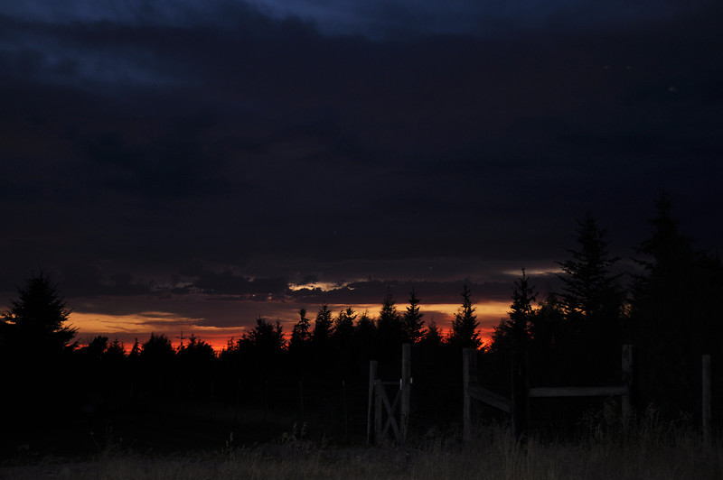 Idaho sunset 8.13.11