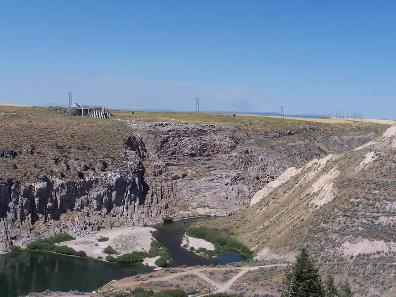 Teton Dam flood site, Idaho. 8.08