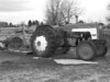 International 424 tractor waiting for spring