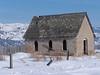 Old building near Heise, Idaho