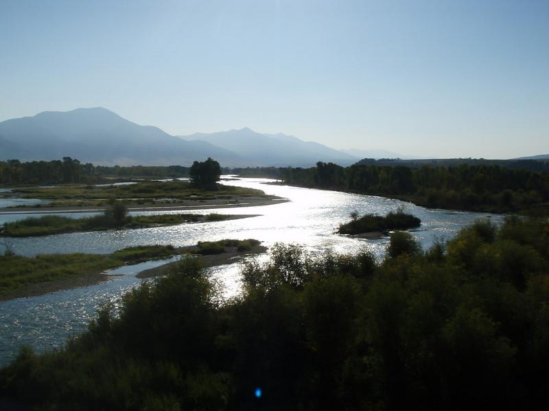 Snake River near Swan Valley, Idaho