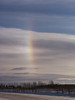 Sun Dog:  Vertical Rainbow