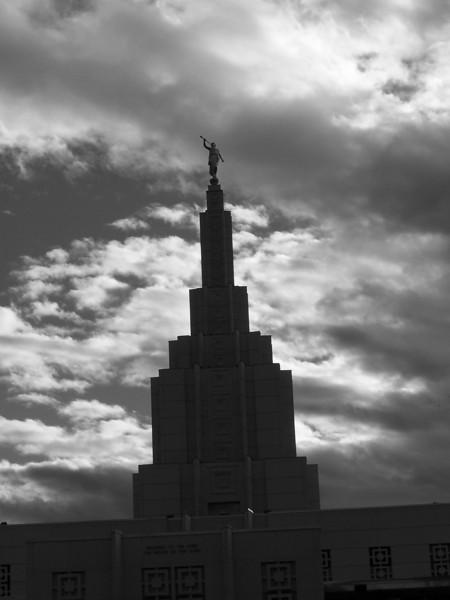 LDS temple, Idaho Falls, ID